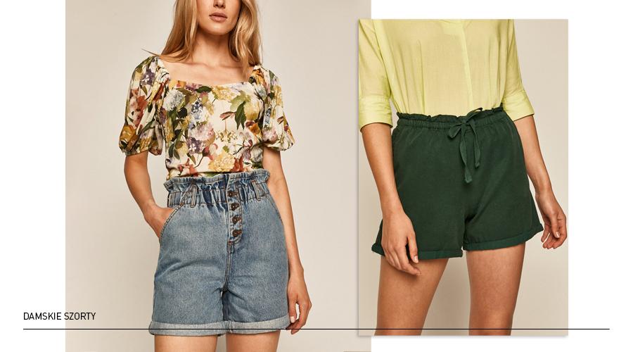 szorty damskie jeansowe